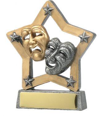 12994 Dance trophy 129mm