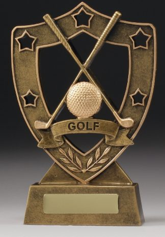 13517 Golf Trophy 125mm