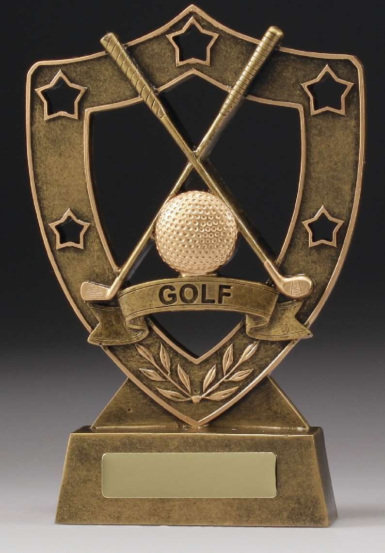 13517 Golf Trophy 125mm