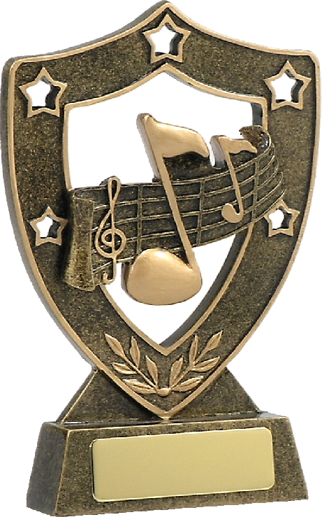 13521 music trophy 135mm