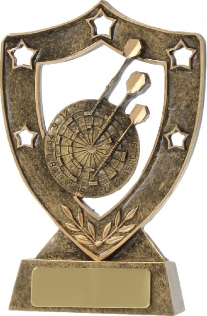 13538 Darts trophy 135mm