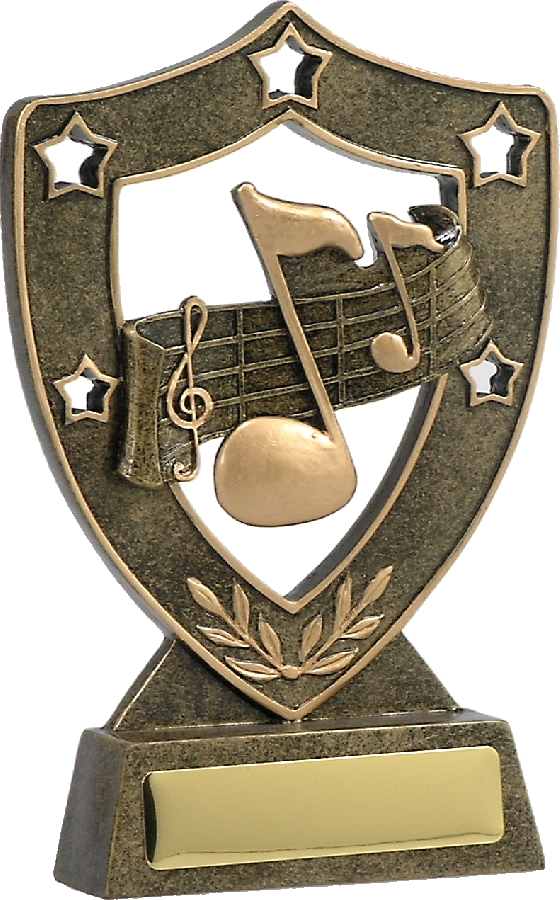 13621 Music trophy 160mm