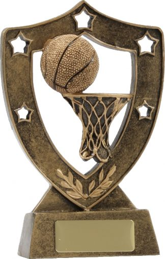 13634 Basketball trophy 136mm