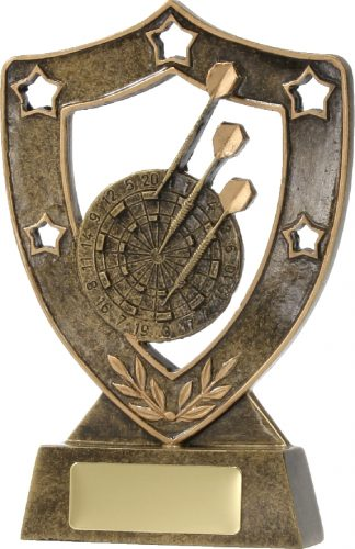 13638 Darts trophy 136mm