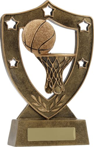 13734 Basketball trophy 137mm