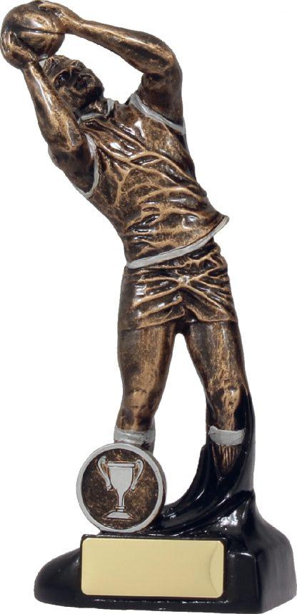 14088C Australian Rules (AFL) trophy 215mm