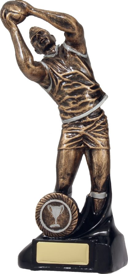 14088D Australian Rules (AFL) trophy 255mm