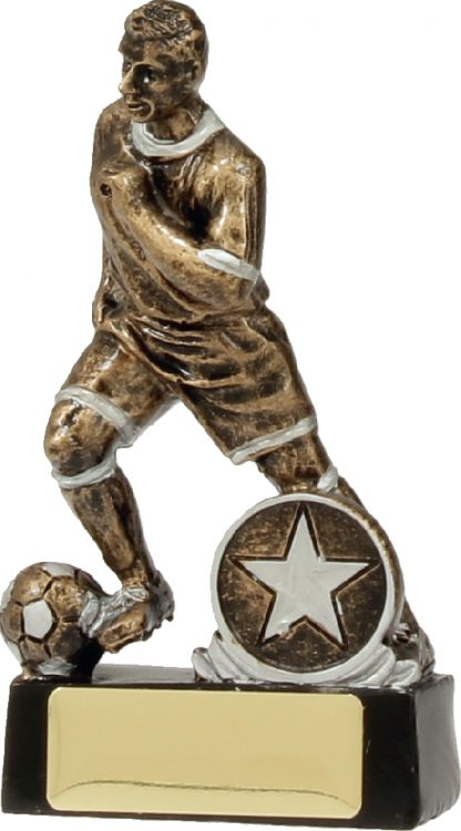 14180A Soccer Trophy 130mm New 2015