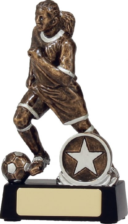 14181A Soccer Trophy 130mm New 2015