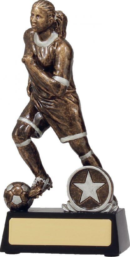14181B Soccer Trophy 165mm New 2015