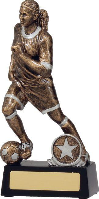 14181C Soccer Trophy 190mm New 2015