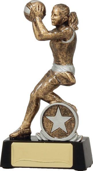 14191A Netball Trophy 130mm