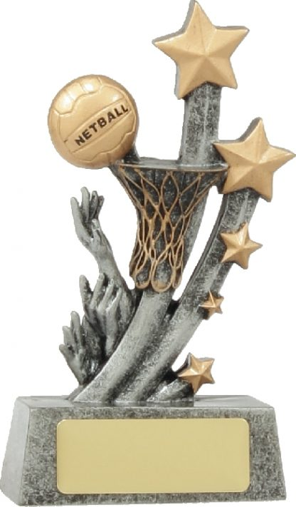 21037B Netball trophy 210mm