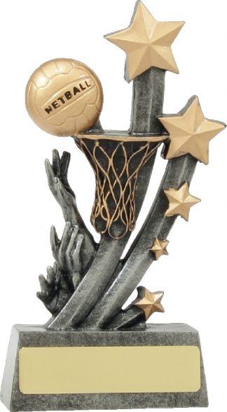 21037C Netball trophy 210mm