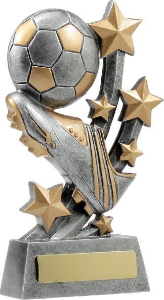 21038D Soccer trophy 185mm