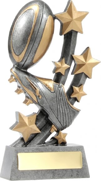 21039D Rugby trophy 185mm
