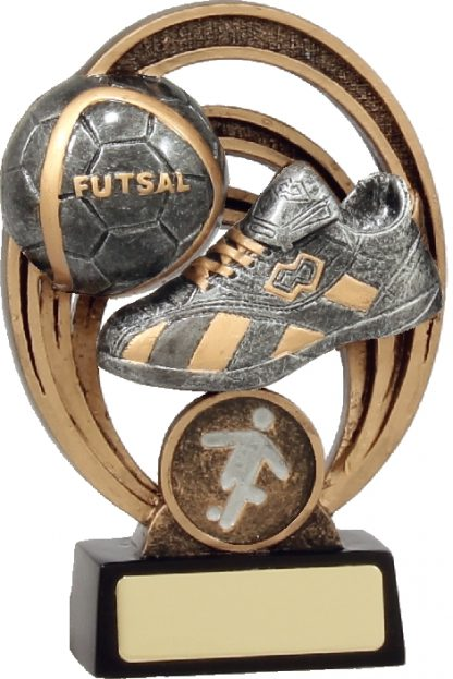 21304A Soccer trophy 130mm New 2015