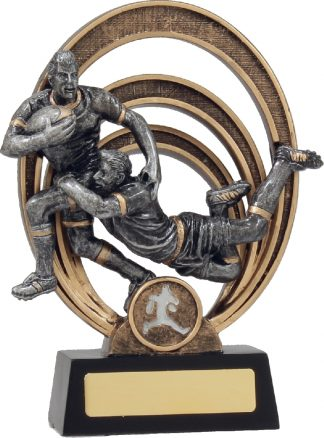 21313C Rugby Trophy 180mm New 2015