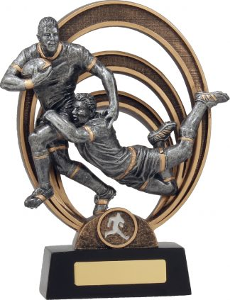 21313E Rugby Trophy 225mm New 2015
