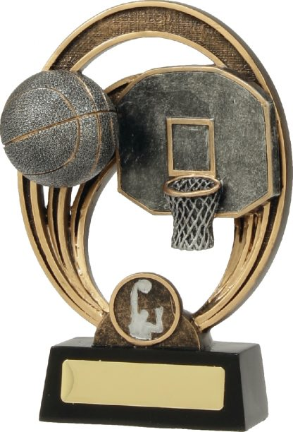21334C Basketball Trophy 180mm New 2015