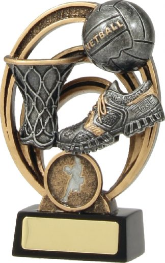 21337A Netball Trophy 130mm New 2015