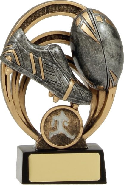 21339A Rugby Trophy 130mm New 2015