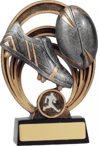 21339B Rugby Trophy 155mm New 2015