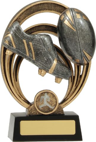 21339C Rugby Trophy 180mm New 2015