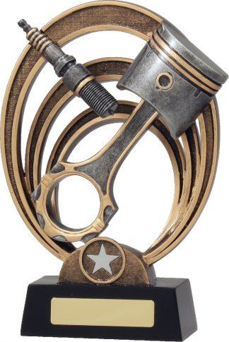 21386E Motor Sports Trophy 225mm New 2015