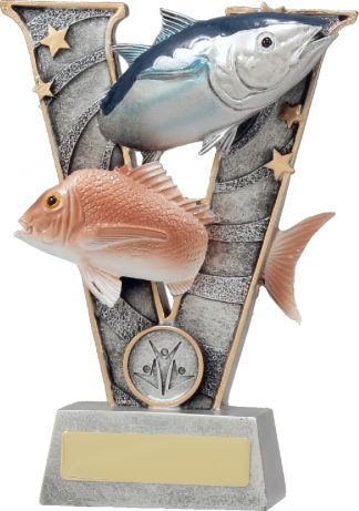 21403B Fishing trophy 185mm