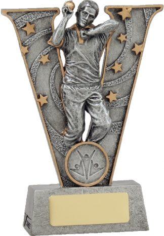 21411AA Cricket trophy 130mm New 2015