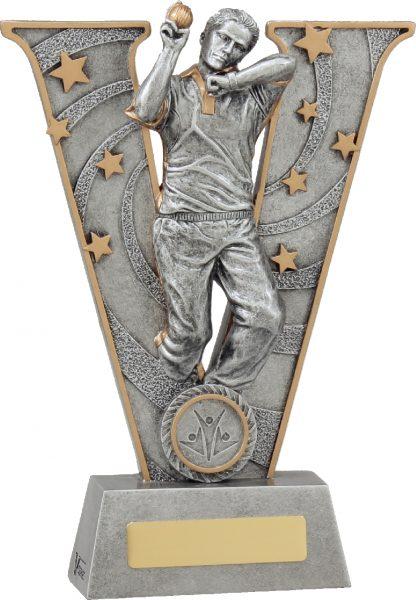 21411C Cricket trophy 225mm New 2015