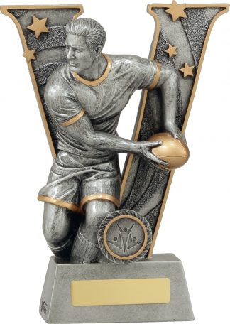 21413C Rugby trophy 220mm