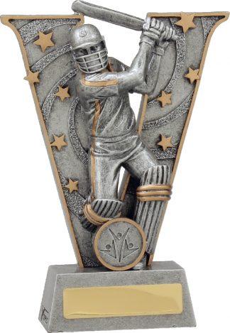 21414B Cricket trophy 185mm New 2015