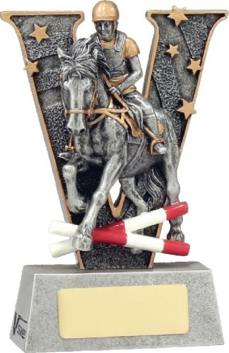 21435AA Equestrian Trophy 130mm New 2015