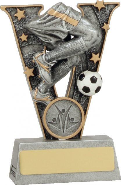 21438AA Soccer Trophy 125mm