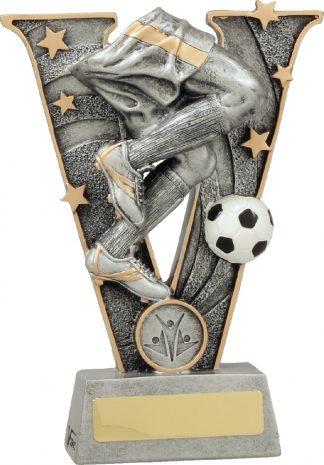 21438B Soccer Trophy 185mm