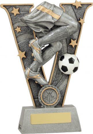 21438C Soccer Trophy 220mm