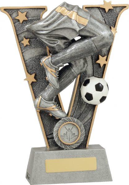 21438D Soccer Trophy 240mm