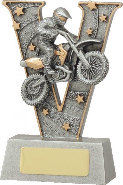 21468AA Motor Sports trophy 130mm