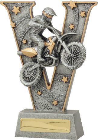 21468B Motor Sports trophy 185mm