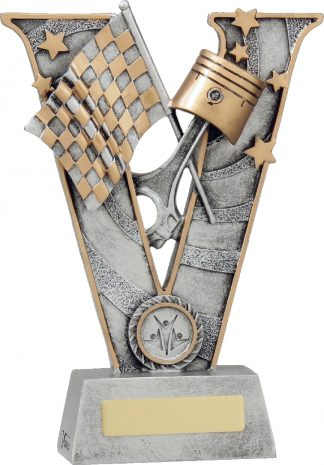 21484C Motor Sports trophy 220mm