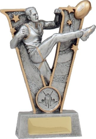 21488A Australian Rules (AFL) trophy 160mm