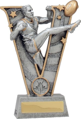 21488B Australian Rules (AFL) trophy 195mm