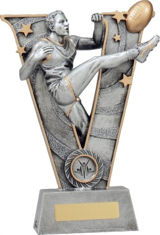 21488D Australian Rules (AFL) trophy 250mm