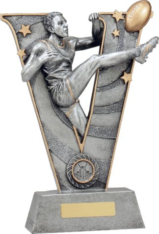 21488F Australian Rules (AFL) trophy 300mm