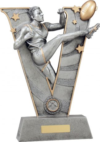 21488H Australian Rules (AFL) trophy 350mm