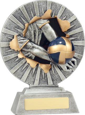 22127C Volley Ball trophy 180mm