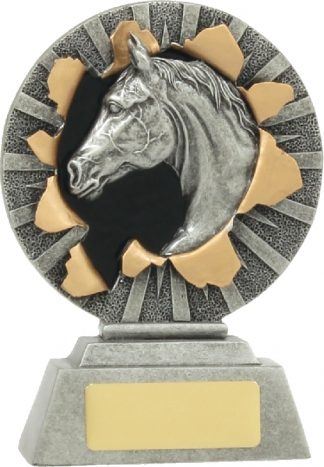 22135A Equestrian trophy 130mm