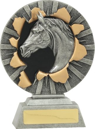 22135B Equestrian trophy 160mm